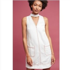Anthropologie Holding Horses Seam Cut Out Dress
